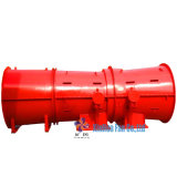 Anti-Explosive Tunnels Axial Flow Mine Ventilation Fans