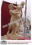 Natural Stone Carving Sculpture for Garden (SK-2198)