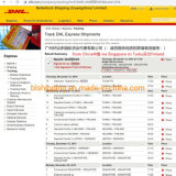 DHL Express Shipment delivered from China to Finland Europe Cheap Prices Dropshipping door to door Services