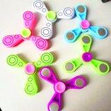 Tri Bar Plastic Fidget Finger Hand Spinner Toy for Kids