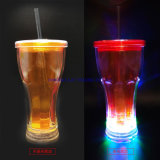 LED Yard Drinking Cups with Straw for Party and Bar