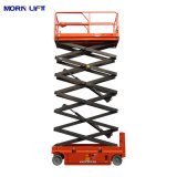 6m-14m Mobile/Movable Battery/Electric Self Propelled Hydraulic Aerial Working/Work Vertical Platform Scissor Man Lift for Sale