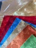 100% Polyester Satin Jacquard Fabric for Home Textile