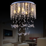 Cheap Modern Crystal Ceiling Lights with Butterfly Crystal Lamp (WH-CA-43)