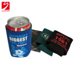 Diving Cloth Cup Cover Custom Heat Transfer Silk Screen Hemming Sticky Bottom Cola Sleeve Insulation Cover Beer Mug Cover