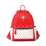 Newest Retro Stylish Punk Rivet Leather Fashion Backpack