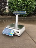 Kf-T LCD 30kg Electronic Scale with Label Printer