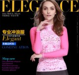 2016 Body Shape Lady′s Wetsuit & Long Sleeve Printed Sportwear (CL-726)