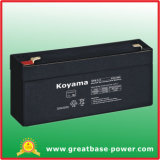 High Quality Good Price Lead Acid UPS Battery 3.3ah 6V