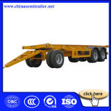 3 Axles Flatbed Dolly Full Semi Trailer