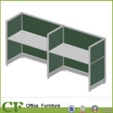 System Furniture 2 Seats Fabric New Office Partition Design