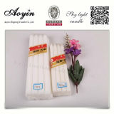 Aoyin Manufacture White Church Candle with Real Wax