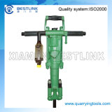 Y20 Hand Held Pneumatic Rock Drill for Dry Mining