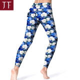 Fashion Design Yoga Wear Supplier Young Polyamide Colorful Sublimation Yoga Leggings