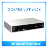 2015 New Arrival Zgemma-Star 2s Twin Tuner DVB-S2 Satellite Receiver Original Zgemma Star 2s IPTV Receiver