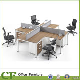 Wholesale 4 Person Office Staff Table/Office Workstation Partition
