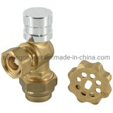 Brass Anti-Theft Magnetic Lockable Ball Valve BS21 Standard for Potable Water From Chinese Professional Manufacturer