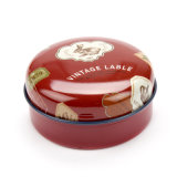 Gift Tin Packing Box Round Metal Boxes