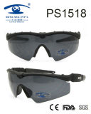 Latest Sports Style Sale Well Frame Plastic Sunglasses (PS1518)