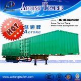 Widely Used Van Type Strong Box Semi Trailer for Sale
