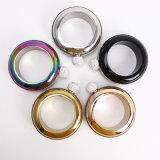 100ml/3.5oz Stainless Steel Portable Bangle Bracelet Hip Flask Stick a Drill