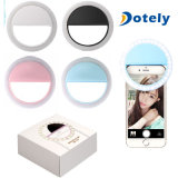 Rechargeable Selfie Ring Light with LED Camera Photography Flash Light up
