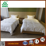 Hotel Room American Style Balck Wooden Bed Design