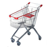 Europe Style Shopping Trolley with 80L