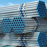 ASTM A53, API 5L, BS1387 En10219 ERW Weled Steel Pipe with Hot Dipped Galvanized Coating