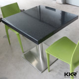 Black Colour Square Restaurant Tables for Kfc Furniture