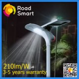 210lm/W Outdoor LED Solar Powered Street Garden Lighting with Remote Control