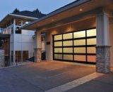 Cheap Industrial Transparent Garage Door / Overhead Glass Garage Door