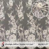 Wedding Swiss Voile Lace Fabric Tulle French Eyelash Lace (M2137)