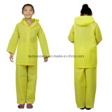 Children and Adult Split-Type Thick Rain Coat