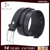 Custom Logo Metal Buckle Man Classic Leather Braided Belts