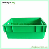 50kgs Food Grade Plastic Solid Nestable Box For Fish