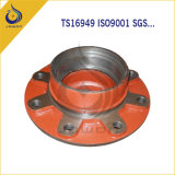 ISO/Ts16949 Certificated Iron Casting Car Parts Wheel Hub