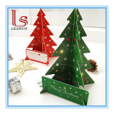 3D Christmas Tree Greeting Cards