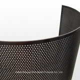 0.1mm Round Hole Stainless Steel Perforated Sheet Metal for Functional Screens and Sunshades
