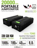 1000A Peak Current Portable Power Booster Jump Starter for Emergency