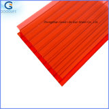 UV Protection Glazing Polycarbonate Twin Wall Hollow Sheet