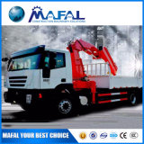Made in China 12 Ton Knuckle Boomtruck Mounted Crane