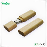 on Sale Wooden USB Stick with Laser Engraving Logo (WY-W06)