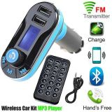 Car MP3 Player Dual USB Card Music Car with Bluetooth FM Transmitter