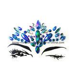 Custom Face Rhinestone Stickes Diamond Eye Gem Sticker for Mobile Decoration (SR-55)