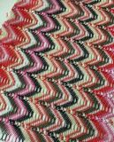 Missoni Style Fabric Wholesale Knitted Multi-Color Polyester Spandex Fabric
