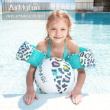PVC Leopard Inflatable Beach Ball Water Toys Armbands for Kids