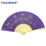 Hot Sell Customized Logo Foldable Paper Hand Fan