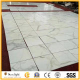 Polished Italian Calacatta White Marble, Italy White Marble Polished Floor/Wall Tiles