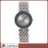 Hot Selling Woman Wrist Watch with Waterproof Case and Stainless Steel Band